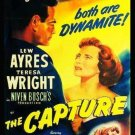 VD9076A  The Capture - 1950 murder romance mystery movie DVD Lew Ayres B/W