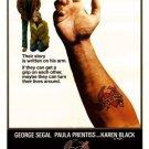 VD9077A  Born to Win DVD - 1971 Dark Drug Comedy George Segal Karen Black Robert DeNiro