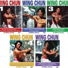 VD5516P  5 DVD SET Grandmaster William Cheung Wing Chun - Sil Lim, Bil Jee, Dim Mak