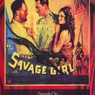 VD9067A     Savage Girl DVD - 1932 B/W Adventure Romance in African Jungle Harry Myers
