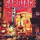 VD9072A  Alfred Hitchcock Sabotage DVD - 1936 Classic Spy Murder Revenge Mystery B/W