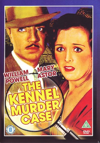 VD9080A  Philo Vance: Kennel Murder Case DVD - 1933 B/W William Powell & Mary Astor