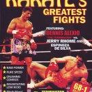 VL0706A  Dennis Alexio vs Jerry Rhome & Espinoza De Silva Pro Karate Fights DVD