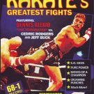 "VL0708A  Dennis ""Terminator"" Alexio vs Cedric Rodgers & Jeff Buck Pro Karate Fights DVD"