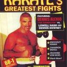 VL0710A  Dennis Terminator Alexio vs Lowell Nash & Dennis Downey Pro Karate Fights DVD