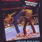 VL0717A  Bad Brad Hefton Knockout Artist PKA Professional Karate Greatest Fights DVD
