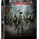 VO1646A Attack on Titan Movie #2 DVD Japanese fantasy Martial Arts Action movie dubbed