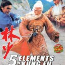 VO1663A  5 Elements Of Kung Fu Adventure of Shaolin DVD Kung Fu action Polly Shang Kuan