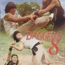 VO1692A  Daggers 8 DVD Chinese Kung Fu Martial Arts Wong Yen Tong, Meng Yuen Men, Lily Li
