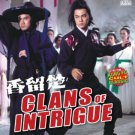 VO1711A  Chor Yuen's Clans of Intrigue DVD Chinese Kung Fu Martial Arts Ngok Wah