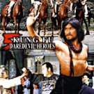 VO1713A  Five Kung Fu Daredevil Heroes Wu Tang Vs the Nation DVD Kung Fu Action Meng Fei