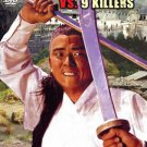 VO1763A  One Armed Swordsman Vs 9 Killers DVD Kung Fu Martial Arts action Jimmy Wang Yu