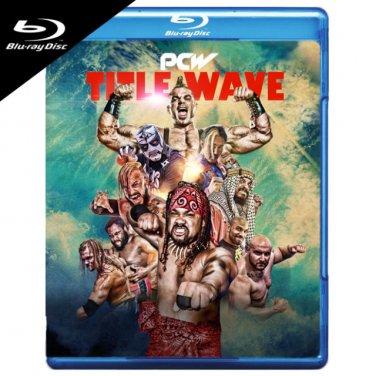VO7608A  PCW Title Wave BLU RAY West Coast Pro Wrestling Brian Cage, Pentagon Jr