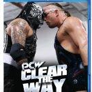 VO7610A PCW Clear the Way BLU RAY West Coast Pro Wrestling Rob Van Dam, Fatu, Pentagon