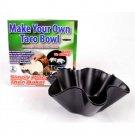 YK0042A  Make Your Own Taco Bowl 2 piece Mold Set ASOTV