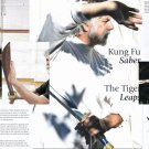 VO3017P  DVD/BOOK SET  Kung Fu Saber: Tiger Leaps Bladed Weapon Ted Mancuso