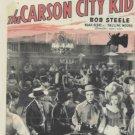 VD9103A  Carson City Kid western DVD Roy Rogers, George 'Gabby' Hayes, Bob Steele