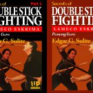 VD5144P  2 DVD Set Lameco Eskrima Secrets Double Stick Fighting Martial Arts Edgar Sulite