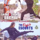 VO1797A  2 Movies! Snake & Crane Secret / Eight Escorts DVD Kung Fu Martial Arts Action