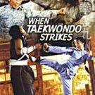 VO1836A  When Taekwondo Strikes DVD Angela Mao, Carter Wong, Yuen Biao, Whang In Shik