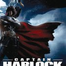VO1024A Captain Harlock Space Pirate -Japanese Science Fiction Action movie DVD 4.5 star