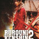 VO1054A Rurouni Kenshin/ Kyoto Inferno (2014) Japanese Fantasy Samurai Action movie DVD