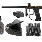 DXP0006P  Pro Electronic Eclipse Etha Paintball Gun Set HPA tank, goggles, loader, harness