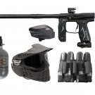 DXP0007P  Top Pro Empire Axe 2.0 Paintball Gun Set HPA tank, goggles, loader, harness