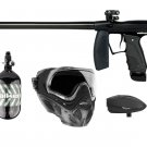 DXP0023P  Tournament Pro Code 68 Electronic Paintball Gun Set HPA tank, goggles, loader