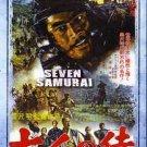 VD7560A  Akira Kurosawa Seven Samurai movie DVD Toshiro Mifune