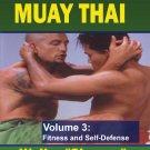 VD5226A Combat Muay Thai #3 Training Secrets Street Tech DVD Walter Michalowski CMT03-D