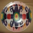 Antique Russian Soviet Gardner, Kuznetsov IKAT large plate dated 1920.