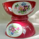 C19th Imperial Russian Gardner Porcelain Pair of Bowls