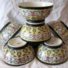 Imperial Russian Soviet Gardner Complect set of Bowls