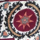 ANTIQUE UZBEK SUZANI EMBROIDERY - SAMARKAND 1900.
