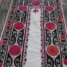 Vintage Uzbek Samarkand Suzani hand embroidered