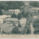 Antique JAPAN Japanese Postcard Tonosawa, Hakone Hot Spring Resort #EC48