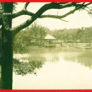 Vintage Postcard FORMOSA Taiwan Under Japanese Rule Tainan Park #EF4