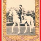Vintage JAPAN Japanese Postcard w/ Folder  Emperor SHOWA on Horse #EE7