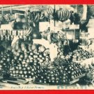 Old Postcard FORMOSA Taiwan Under Japanese Rule Fruit Shop #EF12