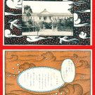 Lot of 2 JAPAN Japanese Postcards Teachers' School Commemoration of the Founding #EO16