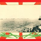 1910 JAPAN Postcard RUSSO-JAPANESE WAR Navy Fleet #EM157