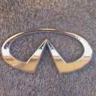 OEM Infiniti Body, Dash, Trunk Emblem. 12.5cm