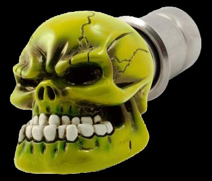 Green Skull Car Lighter