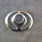 OEM Mazda Body/Dash/Trunk Emblem. 7.5cm Key Hole emblem