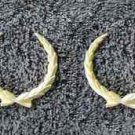 OEM Cadillac Wreath Body/Dash Emblems - GOLD, EXCELLENT Condition