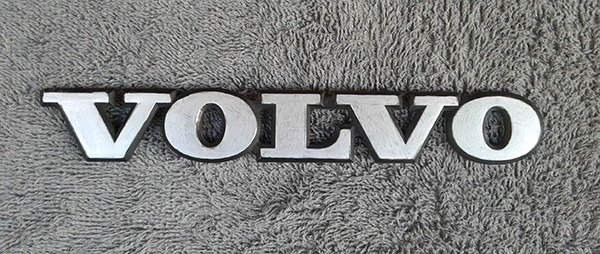 OEM Volvo Body/Dash/Trunk Emblem. 19cm