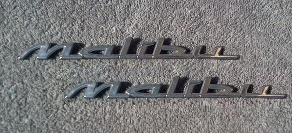 OEM Chevrolet Malibu Body/Dash Emblem EXCELLENT Condition