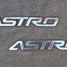 OEM Chevrolet Astro Van Body/Dash Emblems