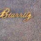 OEM GOLD Cadillac Biarritz Body/Dash Emblem